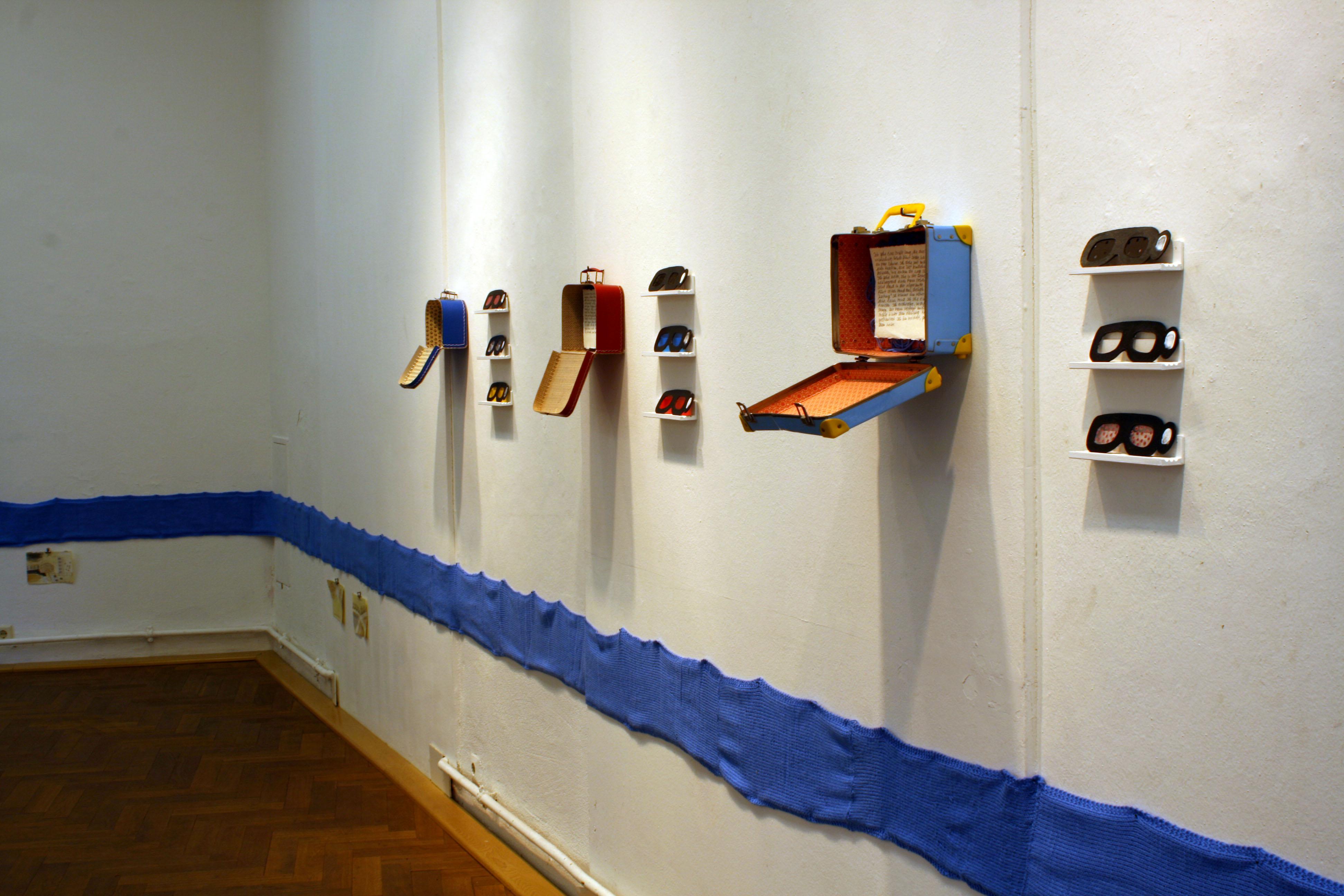 """Projekt """"Ein begehbares Reisetagebuch - 3 Wochen mit Maria"""", 2009/2010"""