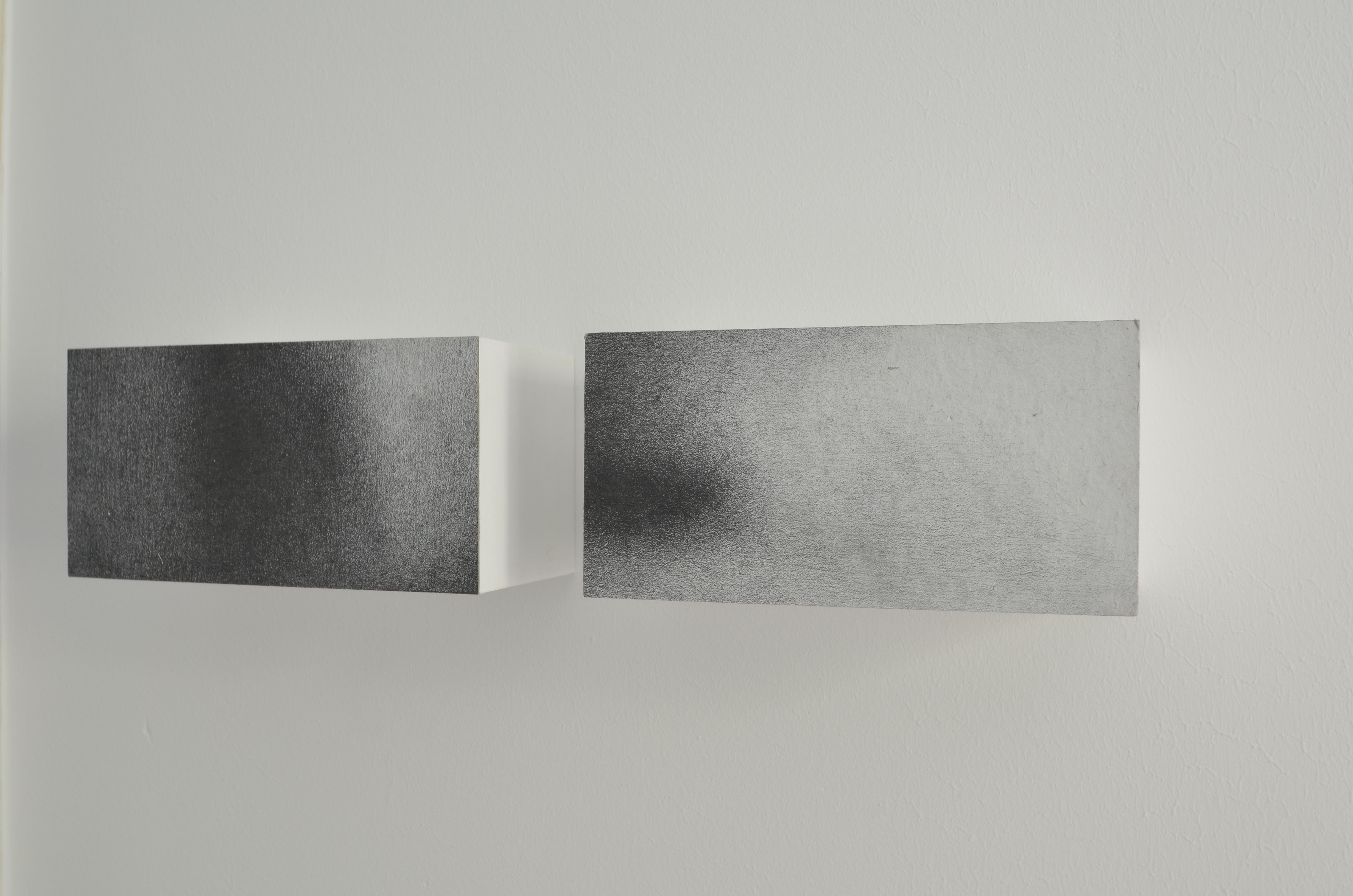 o.T., 2016, Zeichnung auf Filzpappe, 22 x 11 x 11cm