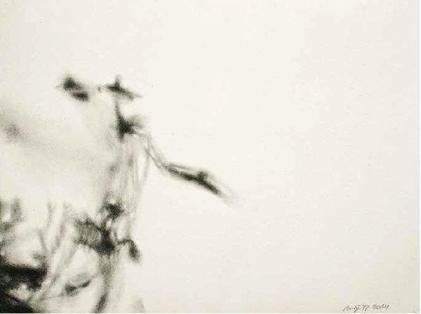 o.T., 2014, Zeichnung auf Papier, 31 x 23 cm